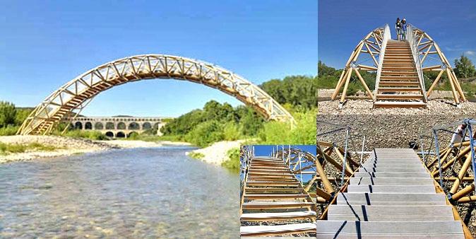 Cây cầu bắc qua sông Gadon
