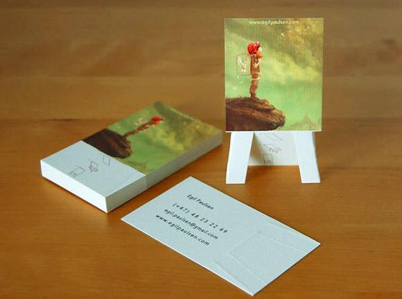4 yếu tố để có một tấm name card đẹp