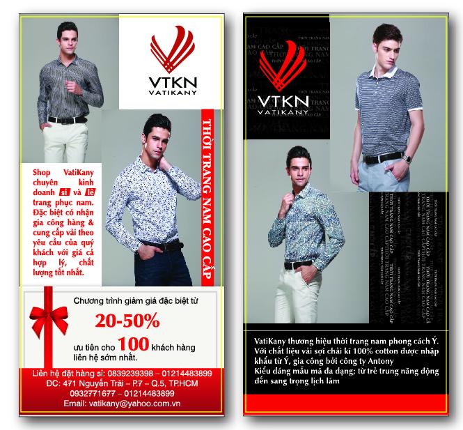 Mẫu in catalogue thời trang tp hcm