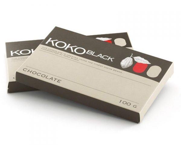 Hộp giấy đựng socola Koko Black