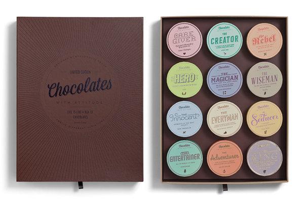 Mẫu hộp chocolate cuộc sống