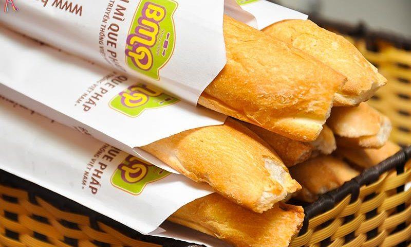 in túi bánh mì