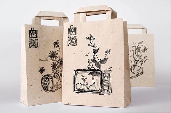 Chọn in túi giấy kraft cho shop thời trang để bảo vệ môi trường