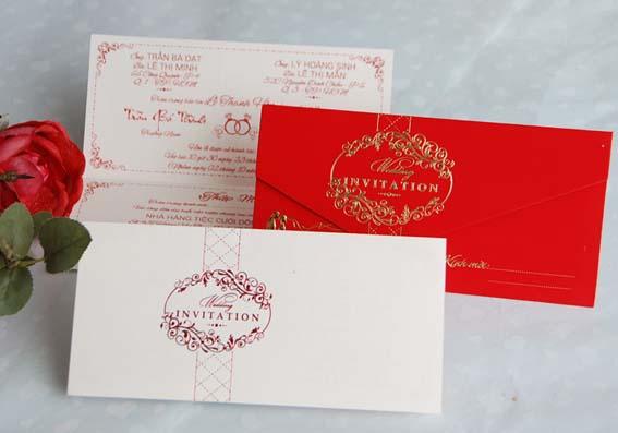 In thiệp cưới đẹp, giảm giá trong tháng 9