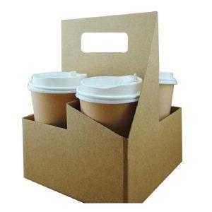 In túi giấy đựng trà sữa