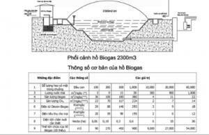 Cấu trúc hầm biogas