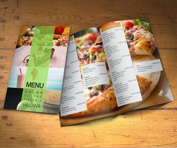 In menu chất lượng