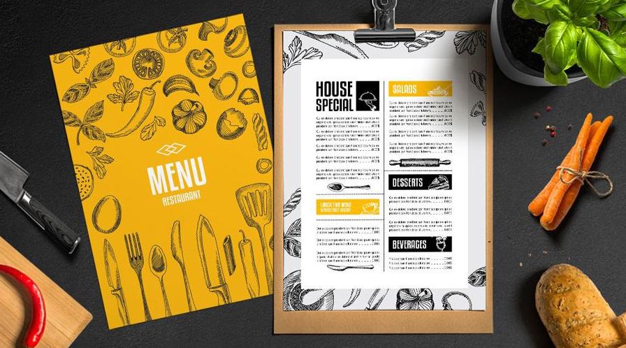 In menu có vai trò như thế nào trong kinh doanh nhà hàng