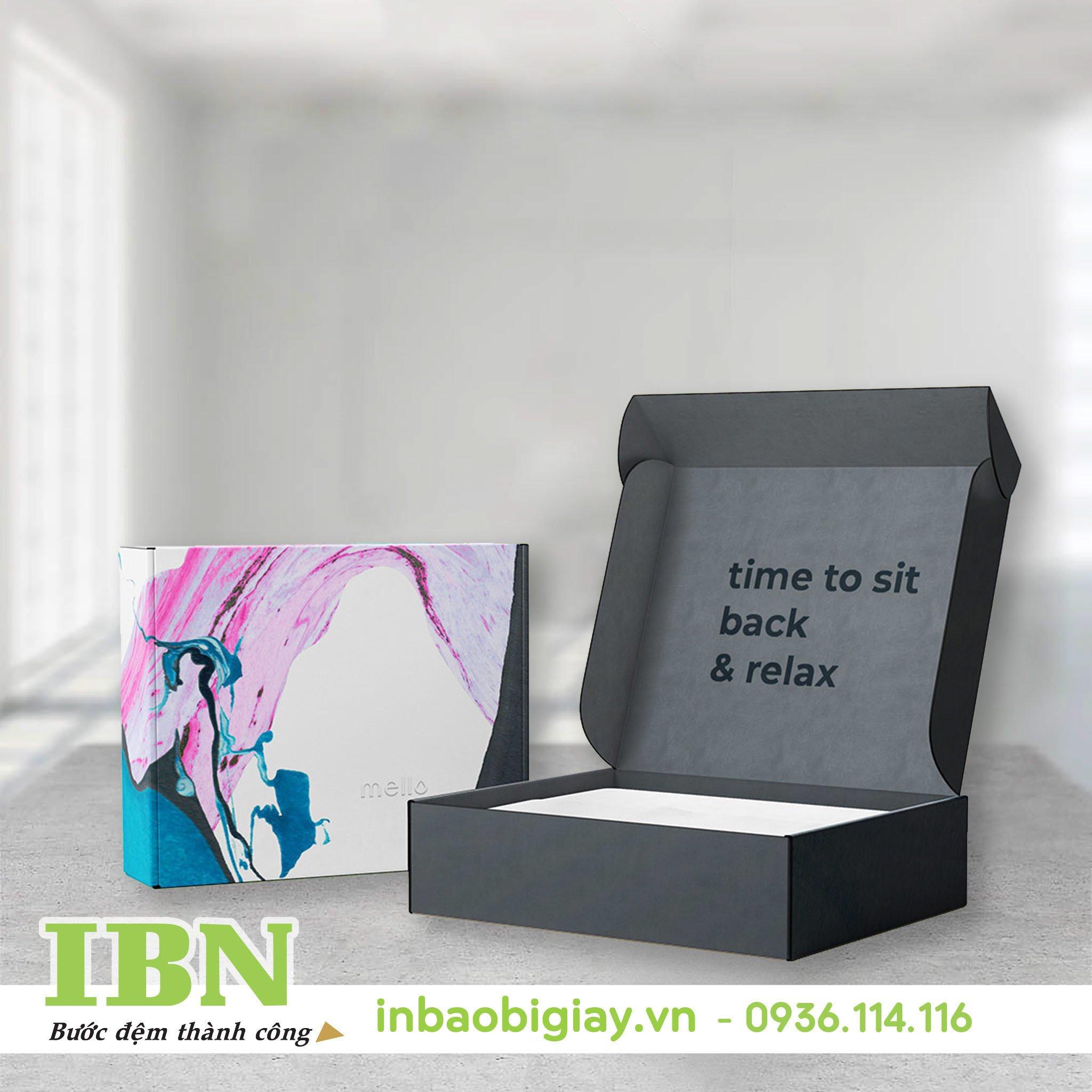 In hộp giấy đựng chuông gió – món quà ý nghĩa cho người nhận